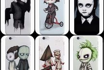 Horror phone case