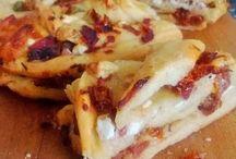 torte salate, focacce pane e pizze