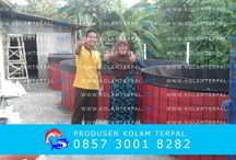 Kolam Terpal Bulat / Produk kolam terpal bulat bahan karet merk orchid lengkap dengan rangka dan pipa-pipa Hubungi 0857 3001 8282