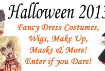 Halloween Fancy Dress / Halloween fancy dress costumes, accessories, wigs, make up, masks, blood, guts and gore!!