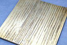 Acabados Especiales - Special finishes / Acabados de efecto para madera Special effect wood finishing