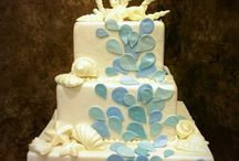 Beach Themed Wedding Cake Ideas