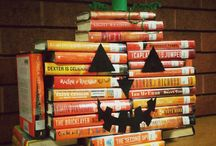 Bookish Autumn Decor