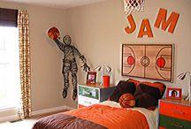 Basket and soccer