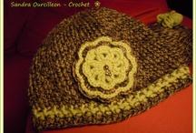 Gorrito verde Crochet