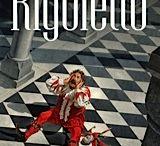 Opera posters. Verdi. Rigoletto