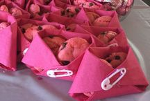 Babyshower Ideas - Girl / Ideer til babyshower for pige // Babyshower Ideas for Girls