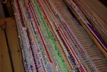 Mina vävda mattor / Mattor som jag själv vävt