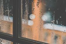 Moodboard: raindrops