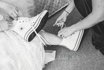 Gorgeous Flat Bridal Shoes / Ditch the heels for some cute flats on your wedding day!