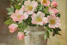 Flores aquarela