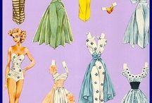 Vintage Paper Dolls / by Marcelle Jacobsen