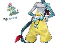 Humanised Pokemon
