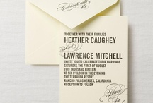 Wedding Invitations / Ideas for your perfect wedding invitation. Classic, contemporary, or themed... there is something for everyone! Check out some of favorite providers.