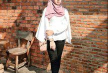 casual hijab photoshoot