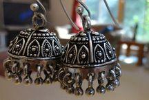 Jaipur Jhumkas - Silver Jhumkas / by Jhumkas Karnick