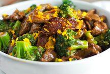 Orange beef  &Broccoli / Beef