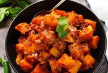 søde kartofler / sweet potato