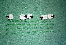 Uppåt väggarna - göra tavlor mm