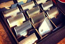 Clipper heads &  scissors case