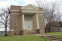 Projects - Temple Freda / The Brazos Heritage Society is assisting a local group of citizens with the restoration of Temple Freda, the first synagogue in Brazos County. The building is a 1913 Greek Revival style.