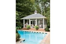 Pool House Inspiration / by Katherine Lipton