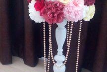 Aranjamente florale pentru nunti.