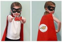 superhero throw-down!