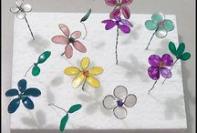fiori con lo smalto