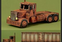 Truck template to make