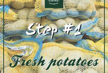 STEP / I passaggi fondamentali per le nostre Queen's Chips! Da non perdere :)