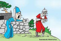 Nart hikayeleri / Kuzey Kafkas halklarının ortak ürünü olan Nart Destanlarından bazı hikaye örnekleri yer almaktadır.