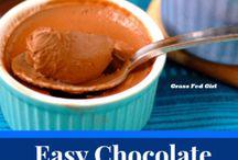 Low carb mousse/pudding