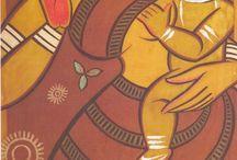 Jamini Roy's Art Work / by Biplab Das