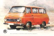 Skoda Vintage Ads