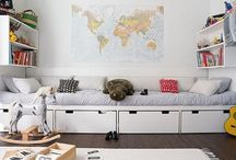{playrooms/kids rooms} / by Page Stokes