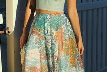 Maxi Skirts / Skirts that are big and wide and chic and featuring the one that got repinned numero :)