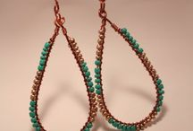 wireworking and beads jewelry / handmade wire and bead jewelry
