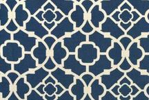 Blue fabric / Fabric for cushions and drapes