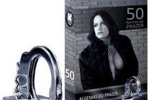 50 TONS DE CINZA LINHA SADO / Acessórios sado inspiradas no filme 50 tons de cinza o Clique Sexshop separou alguns acessórios eróticos que não podem faltar na sua relação.