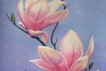 hamur kabartma çiçekler