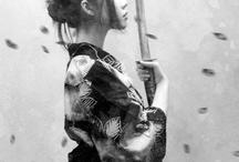 Femme samouraï