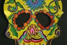 Art Day of the Dead ideas / Art Project ideas
