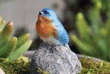 Fairy Garden | Animals / Add little animals to your fairy gardens.