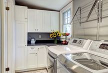 laundry/mud room / by Mockingbird Hill Cottage