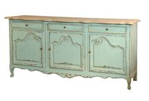 Sedgemoor Shabby Chic Collection / Light blue shabby chic french furniture.