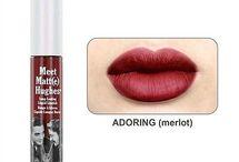 The Balm Cosmetics / #Thebalm #lipstick #Cosmetics #LiquidLipstick #Canada #USA # Australia #UK