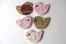 Crochet Applique motifs
