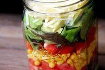 Layered salad idea