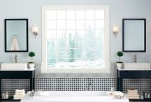 Tile Inspiration for Your Next Home Design Project / There are so many beautiful new styles in tile for use in your kitchen and bath and throughout your home! Art Van Flooring can help you decide which one is right for your design project. Shop your favorite at bit.ly/ArtVanFlooring